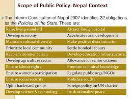 powerpoint policy making in nepal