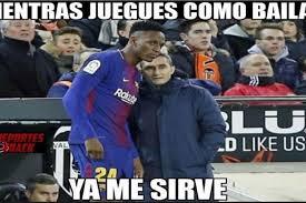 Memes De Messi - los memes se divierten con messi y mina en el empate del barcelona