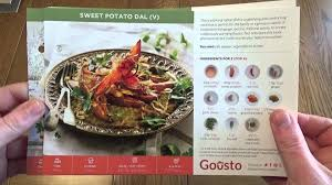 goosto cuisine gousto review receipe and food delivery service by gousto co uk
