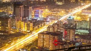video 4k resolution time lapse beijing city night 22417064