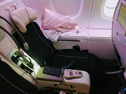 siege business air air seat reviews skytrax