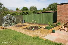 Patio Grow House How Does Your Garden Grow Finished Veggie Patch