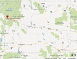 map of wyoming grand teton national park on map of wyoming world easy guides
