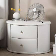 white nightstands bedroom furniture the home depot