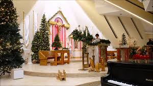 Religious Decorations For Home by Resurrection Catholic Church Christmas Decorations 2015 Youtube