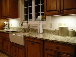 Slate Backsplash Ideas For The by Kitchen Slate Backsplash Granite Countertop We Tried To Match The
