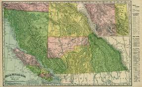 bc map canada