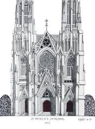 st louis cathedral new orleans illustration by frederic kohli