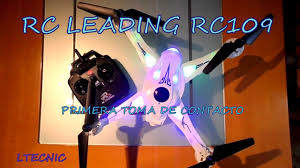 leading rc rc 109 first contact in spanish youtube