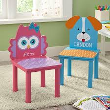 Personalized Kid Chair Personalized Kids Furniture At Personal Creations