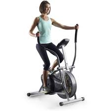Cycling Home Decor by Gold U0027s Gym Folding Upper U0026 Lower Body Cycle With Monitor Walmart Com