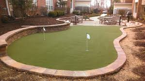 cost of backyard putting green backyard