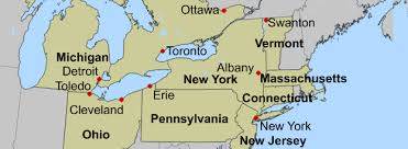 united states major cities map map of canada and united states with cities travel maps and