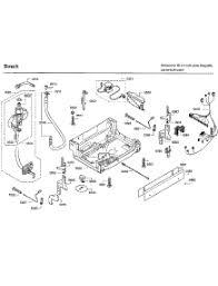 parts for bosch shx7er55uc 52 dishwasher appliancepartspros com