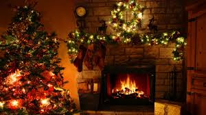 fireplace christmas tree christmas lights 3 hours youtube