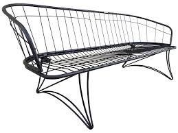 mid century modern homecrest metal patio sofa chairish