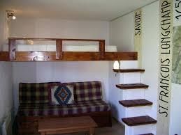 lit mezzanine canapé lit superpose avec canape lit mezzanine avec banquette clic clac lit