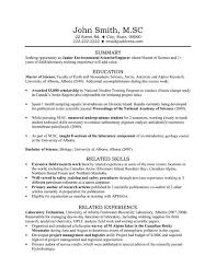 Research Assistant Resume Sample by Laboratory Assistant Cover Letter