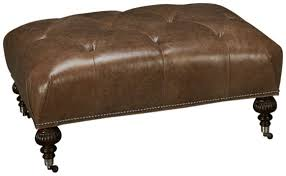 Rowe Ottoman Rowe Rowe Leather Accent Ottoman S Furniture