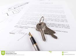 real estate contract stock photo image 59541517