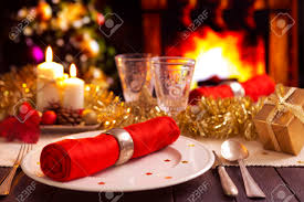 christmas decorations for the dinner table a romantic christmas dinner table setting with candles and christmas
