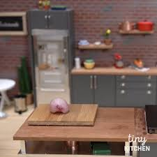 Dollhouse Kitchen Furniture Tiny Kitchen Big Dreams Tastemade