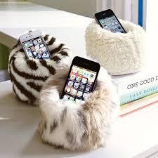 phone fuzzy bean bag chair on the hunt
