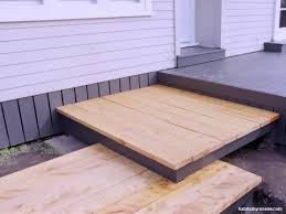 how to build a deck nz get growing how to build floating steps habitat by resene