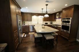 u shaped kitchen island u shaped kitchen with center island granite countertop kitchen
