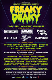 midwest halloween massive freaky deaky line up and new location