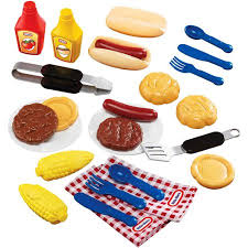Backyard Barbeque Little Tikes Backyard Barbeque 26 Piece Grillin U0027 Goodies