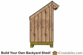 Outdoor Wood Shed Plans by Small Firewood Storage Lean To Shed Plans Outdoor Shed Plans