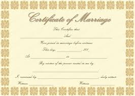 catholic marriage certificate 26 images of marriage certificate template tennessee