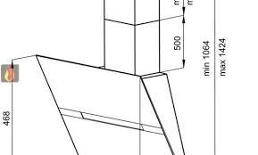 hauteur d une hotte de cuisine hauteur hotte de cuisine meuble hotte cuisine hotte de cuisine