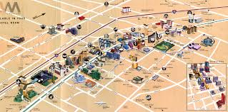 Las Vegas Fremont Street Map by Las Vegas Map For Tourist Travel Map Vacations