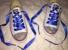royal blue ribbon danity orignal chuck converse with ab fronts royal blue
