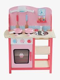 cuisine en bois fille dinette enfant fille et garçon jouets pour enfants vertbaudet