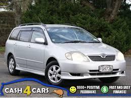 towbar toyota corolla 2001 toyota corolla fielder s 1800cc towbar cash4cars