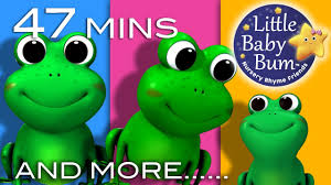 five little speckled frogs plus lots more nursery rhymes 47