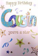 cousin male birthday cards ebay