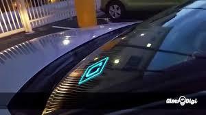 lyft light up beacon uber windshield light led youtube