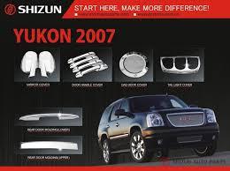 Car Decoration Accessories Sizzle Chrome Car Exterior Decoration Accessories For Gmc Yukon