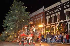 visit manistee michigan manistee victorian sleighbell parade old