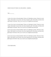 9 sample thank you notes u2013 free sample example format download