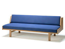 Hans Wegner Sofa by Sofa Bed Contemporary Beech 2 Seater Ge 258 By Hans J