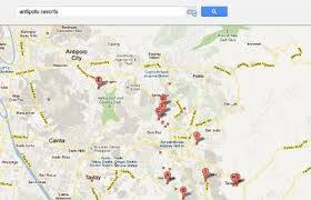 antipolo map antipolo resorts list of swimming pools rates