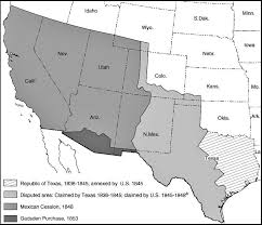 map us expansion map of the united states expansion 1836 1853