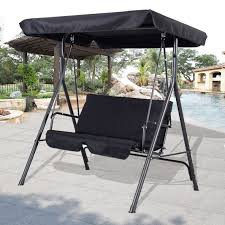 Swing Chairs For Patio Patio Swing Canopy Replacement Person Patio Swing With Canopy