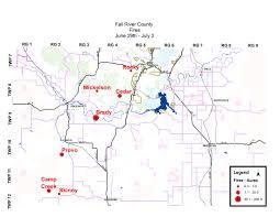 South Dakota County Map Fallriver Author At Fall River County South Dakota