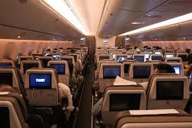 Boeing 777 Interior Review Swiss 139 777 300er Business Class Hong Kong To Zurich